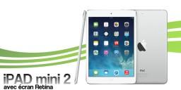 Réparations pour Ipad Mini 2