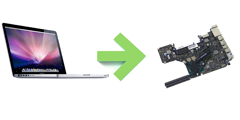 reparation carte mere macbook pro