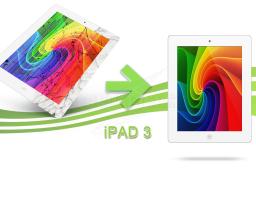 Réparation écran + vitre Ipad 3