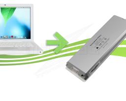 Remplacement de batterie pour Macbook Blanc a1181