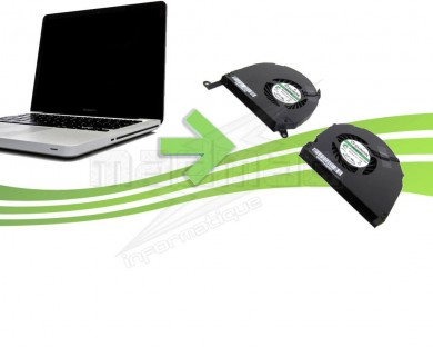 Reparation de ventilateurs pour Macbook Pro Unibody