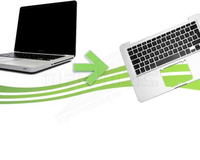 Reparation clavier macbook pro unibody