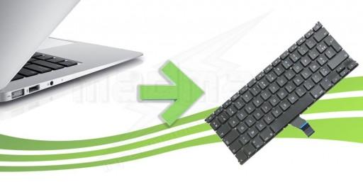 réparation clavier macbook air