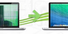 réparation écran cassé pour macbook