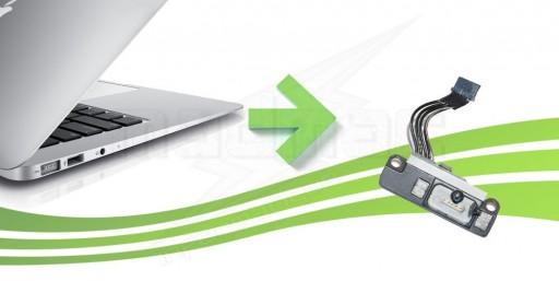 réparation chargeur macbook air
