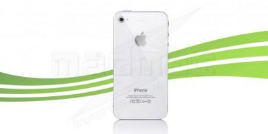 Remplacement Vitre arrière Iphone 4S blanc