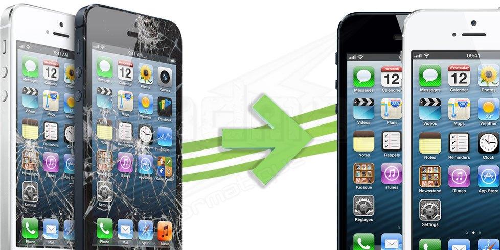 Iphone 5 R Paration Ecran Tactile Vitre A1429