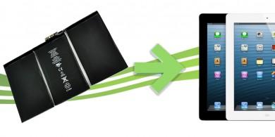 remplacement batterie ipad