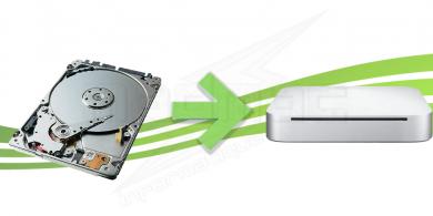 Remplacement disque dur pour Mac Mini 2010