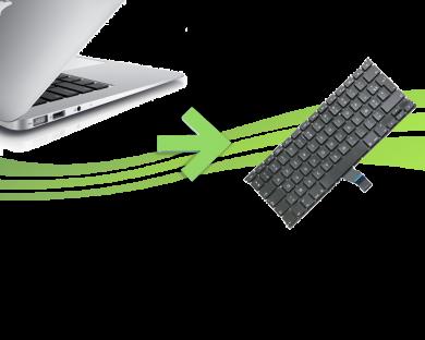reparation clavier macbook air