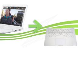 Réparation de Clavier ou topcase pour Macbook Blanc