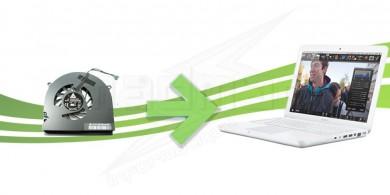Remplacement de ventilateur pour Macbook Blanc Unibody
