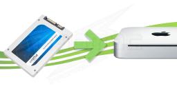 SSD pour Mac Mini 2010