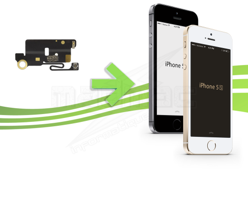réparation wifi iphone 5s