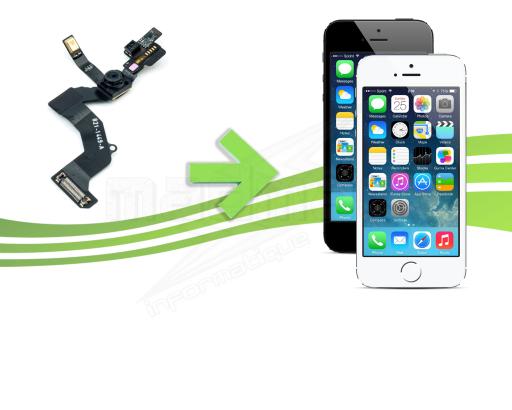 réparation camera avant iphone 5s