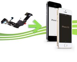 Réparation connecteur de charge , micro et entrée jack pour Iphone 5s