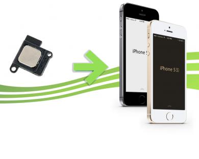 Forfait Remplacement d'écouteur Interne pour Iphone 5s