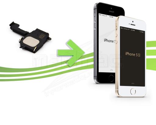 Réparation du haut parleur externe pour Iphone 5s