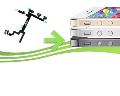 Forfait Remplacement de bouton power , volume et vibreur pour Iphone 5S