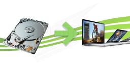 Réparation de disque dur pour portables Macbook