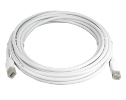 Dr. Bott mini DisplayPort Cable (m-m), 4,5 m, Blanc