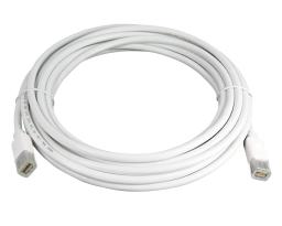 Dr. Bott mini DisplayPort Cable (m-m), 4,5 m, Blanc