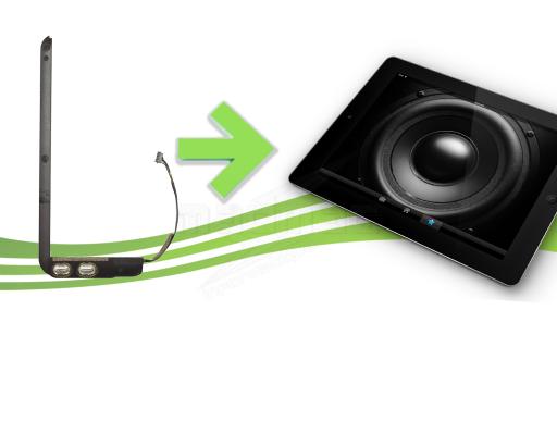 réparation haut parleur ipad