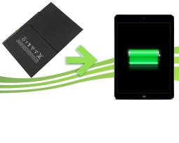 réparation batterie ipad air