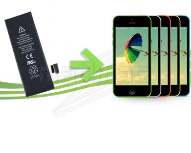 réparation batterie iphone 5c