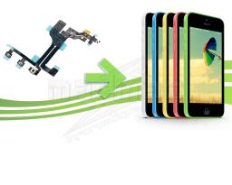 Réparation nappe power volume vibreur Iphone 5c