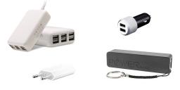 Adapteurs de recharge pour Iphone