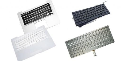 Réparation de clavier macbook