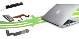 Connectique Interne pour Macbook Air