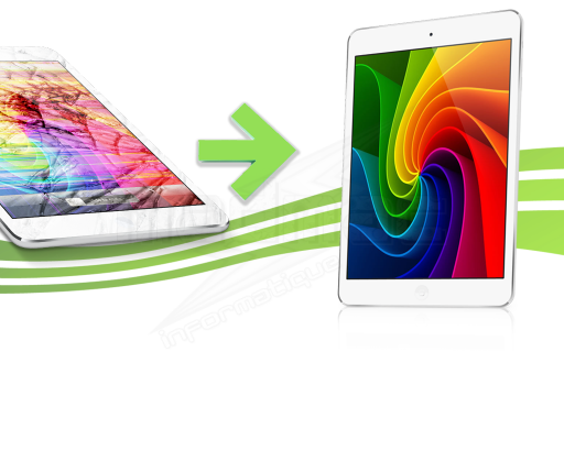 Réparation Vitre écran Ipad Mini