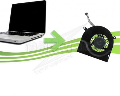 Ventilateur pour Macbook pro Unibody