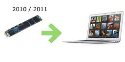 SSD pour Macbook Air 2010 / 11