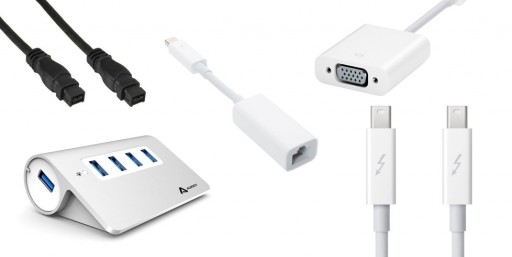 Connectiques & Câbles pour Mac