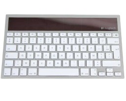 clavier sans fil solair bluetooth pour mac ipad iphone