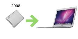 SSD pour Macbook Air 2008