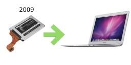 SSD pour Macbook Air 2009