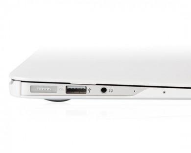 coque protection macbook air 11 iGlaze Moshi blanc