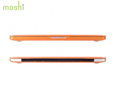coque protection macbook Pro Retina 13 iGlaze Moshi orange