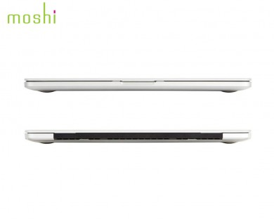 coque protection macbook Pro Retina 13 iGlaze Moshi Transparent
