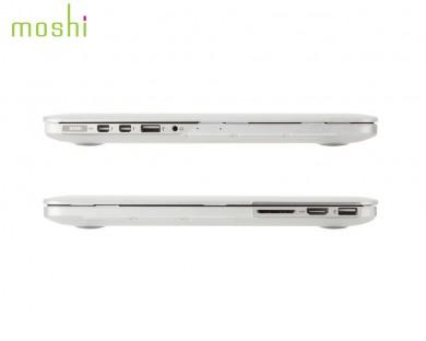 coque protection macbook Pro Retina 13 iGlaze Moshi Transparent
