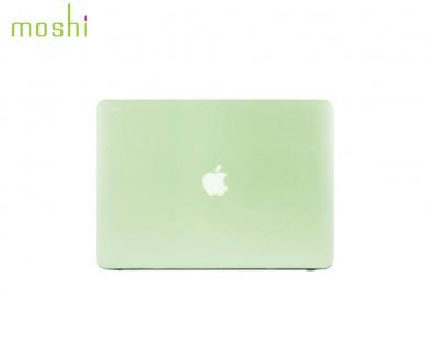 coque protection macbook Pro Retina 13 iGlaze Moshi vert