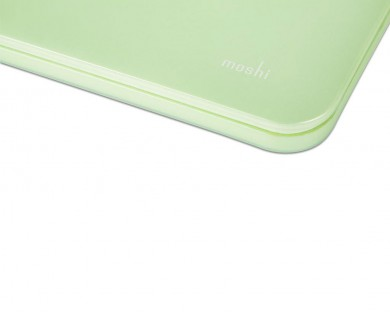 coque protection macbook Pro Retina 13 iGlaze Moshi vert