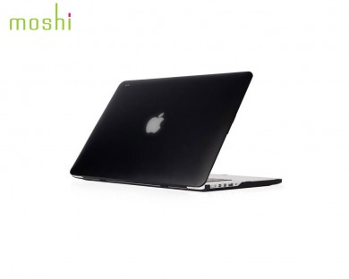 "Coque de protection macbook Pro Retina 15"" iGlaze Moshi noir"