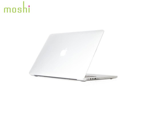 "Coque de protection macbook Pro Retina 15"" iGlaze Moshi translucide"