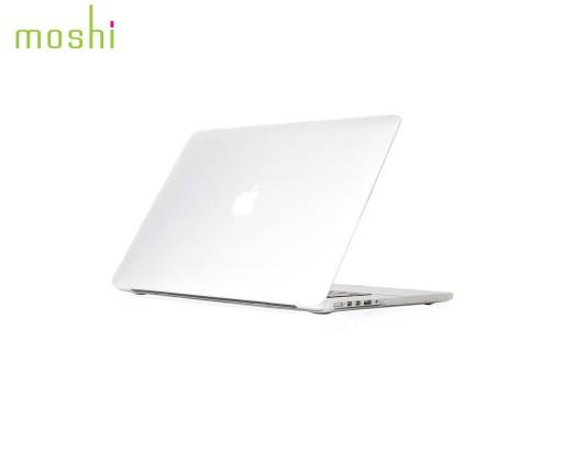 """Coque de protection macbook Pro Retina 15"""" iGlaze Moshi translucide"""