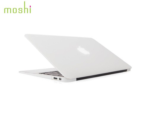 coque protection macbook air 11 iGlaze Moshi blanc